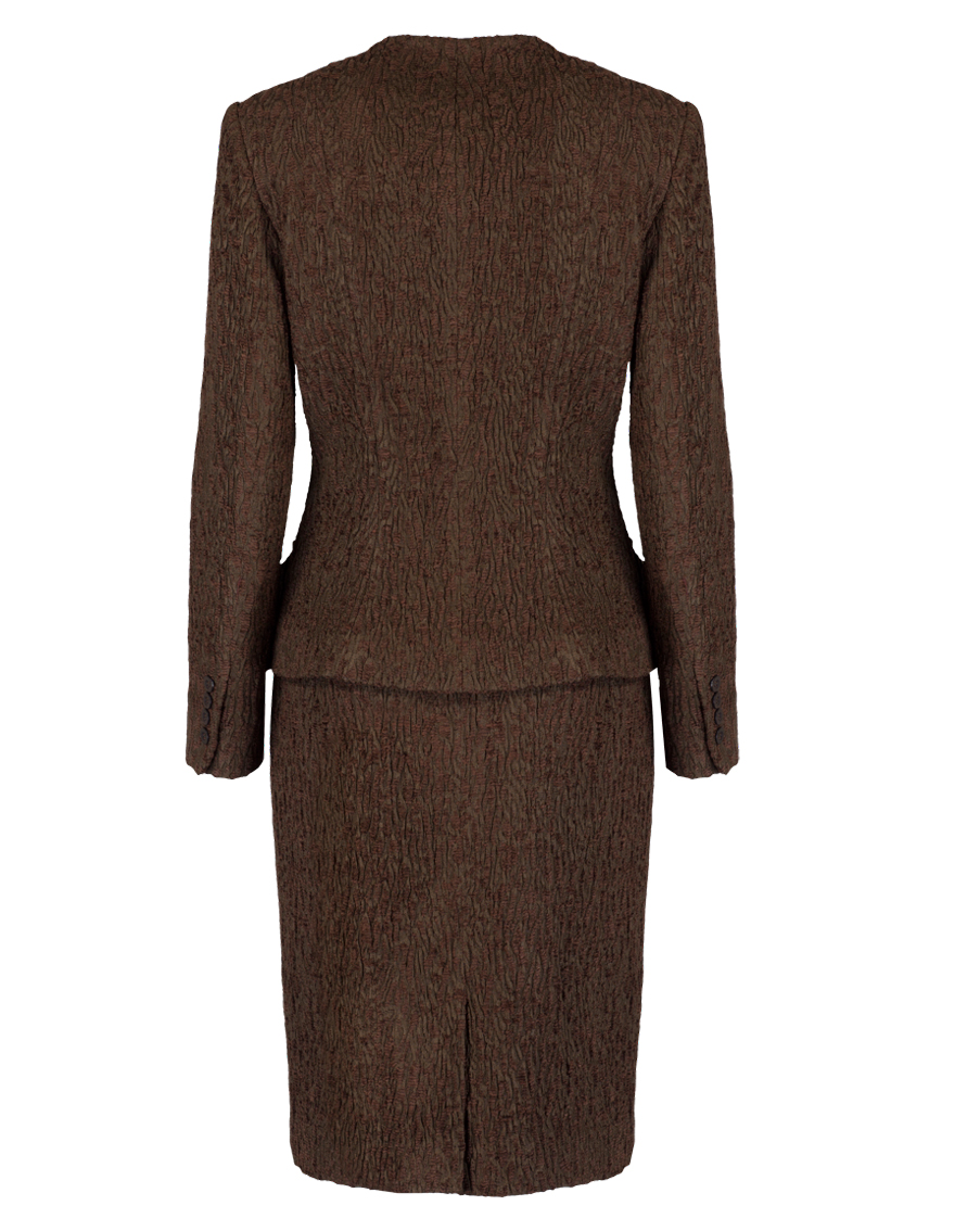 Brown Boucle Suit (MA1062)