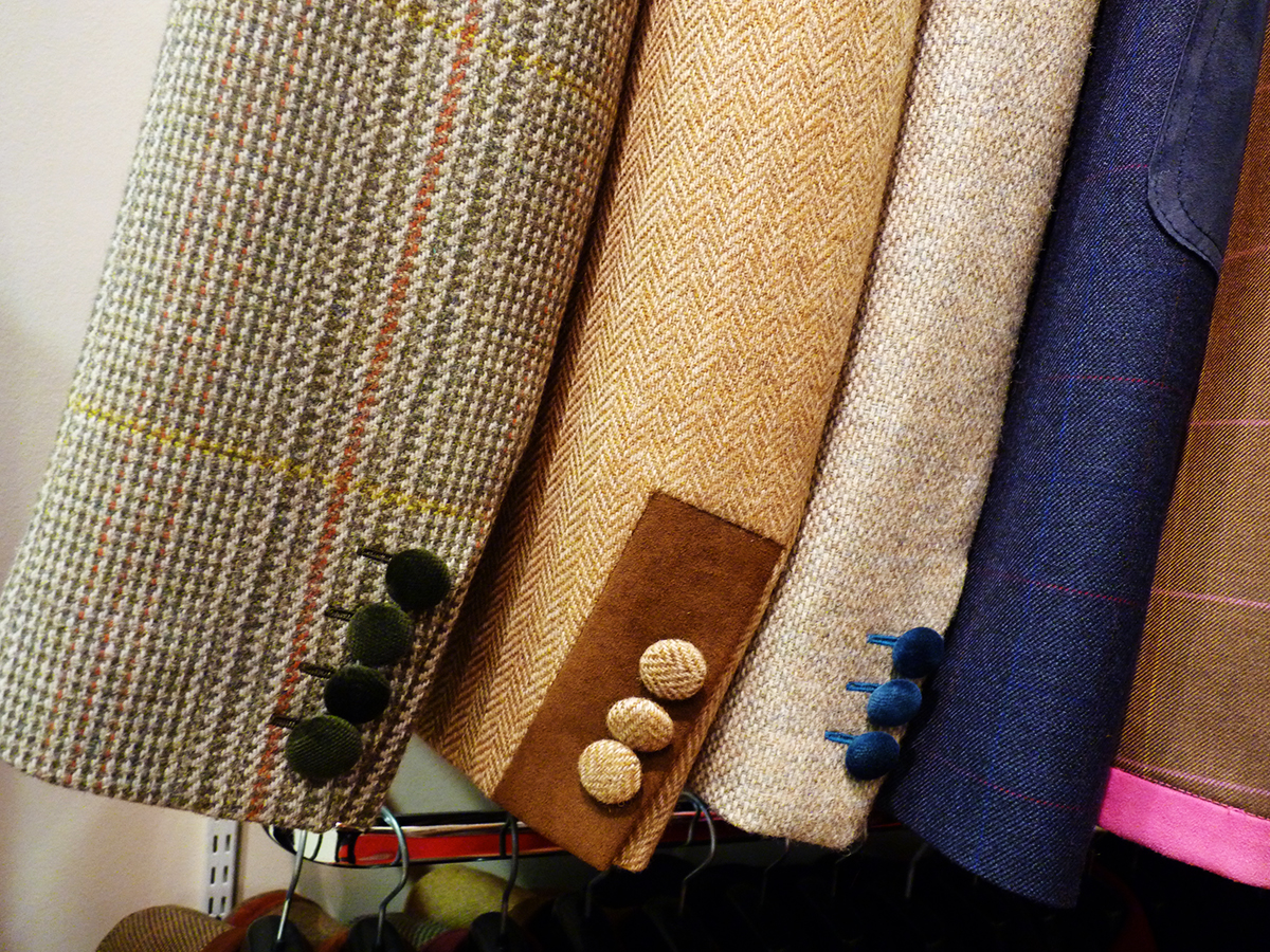Myles Anthony bespoke tailoring