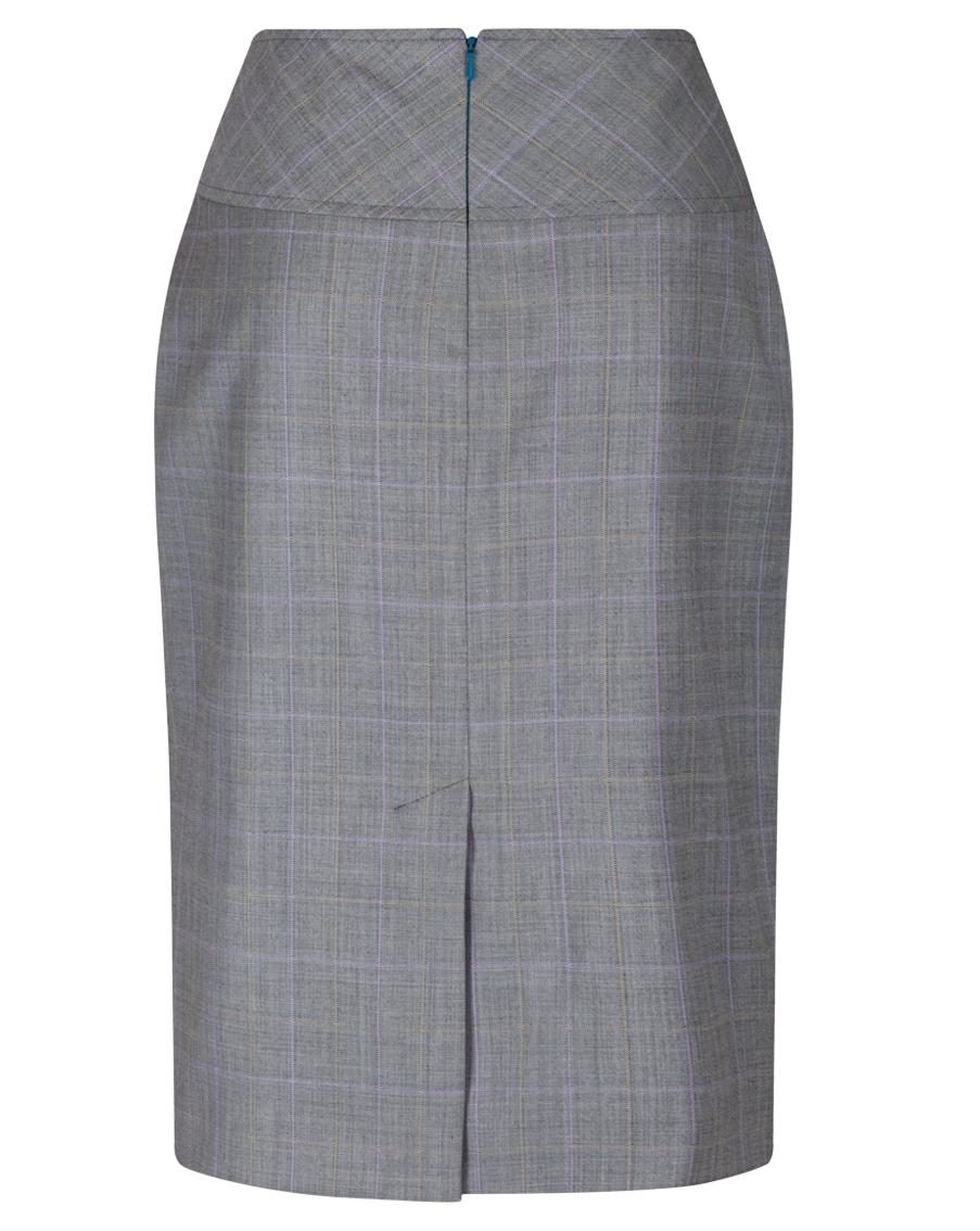 grey check pencil skirt ma1026 myles anthony